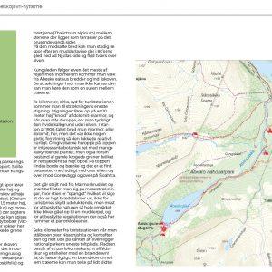 Side 102 og 103 fra René Ljunggrens bog om Kenekaisefjeldene