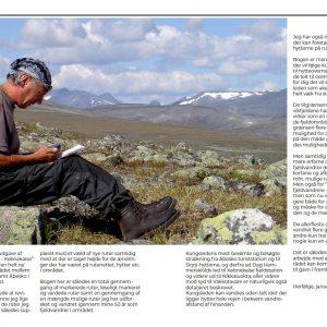Side 12 & 13 fra René Ljunggrens bog om Kenekaisefjeldene