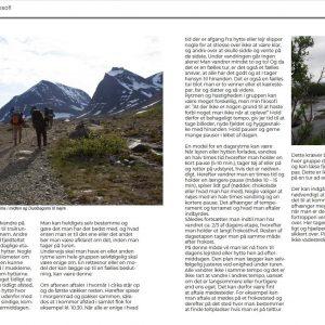 Side 22 og 23 fra René Ljunggrens bog om Kenekaisefjeldene