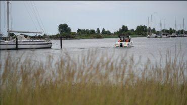 Der er fire havne i Strandpark Køge Bugt. Og ikke bare med plads til motorbåde, men også med masser af plads til kajakke.