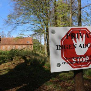 Ingen adgang i Gå nye veje-kampagnen