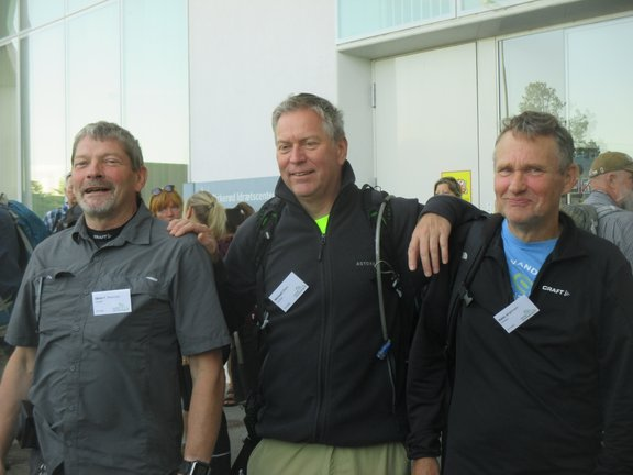 De tre turledre Søren P. Petersen, Michael Olsen, Hans Jørgensen