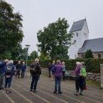 DVL vandretur - Vandrernes dag i Skjern - startsted ved kirken