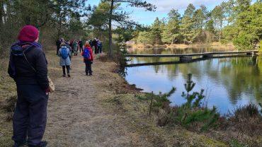 DVL vandretur - Stråsø Plantage. Tak for turen ved Badesøen