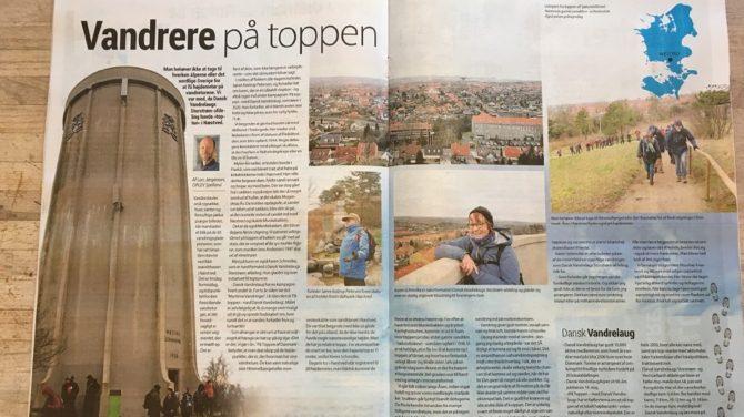 Vandrere på toppen. Foto Lars Jørgensen