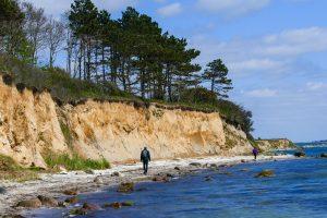Skrænten Glænø. Foto Karen Schmolke