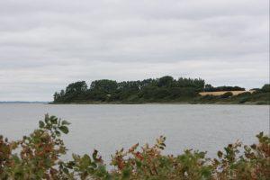 Varnæs Hoved set fra Varnæsvigvej. Vandreruter i Sønderjylland