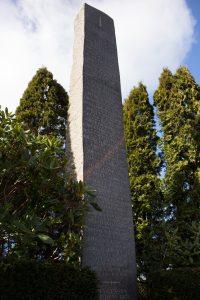 Mindesmærke på Havnbjerg kirkegård