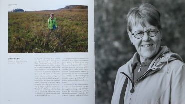 Portræt af Christine Riis fra side 200