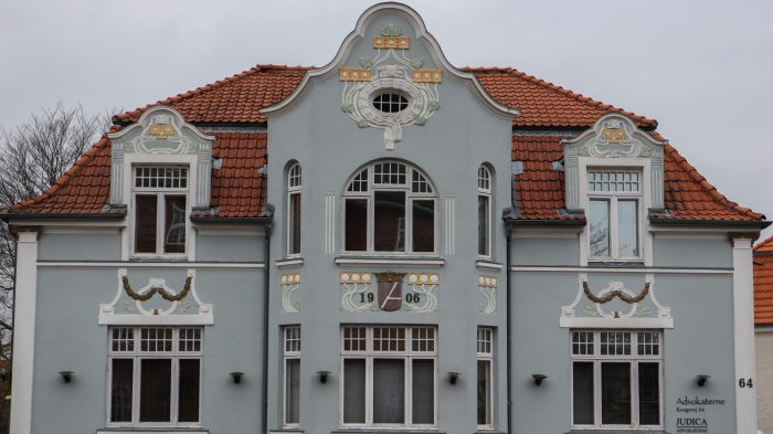 Jugendstil facade - Kongevej 64