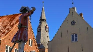 Kagmanden med Kristkirkens tårn