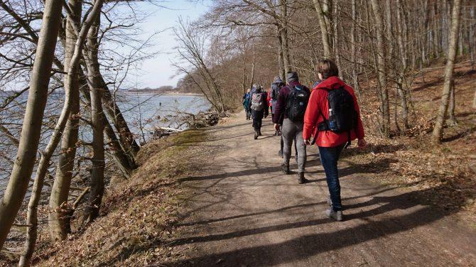 DVL på tur ved Horsens. Foto Ann-Charlotte K. Knudsen